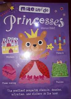 Buku Aktivitas Anak Import - Make and Do Princess
