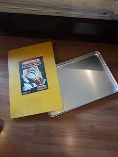 Talenan dan tray jumbo cocok untuk catering atau restaurant