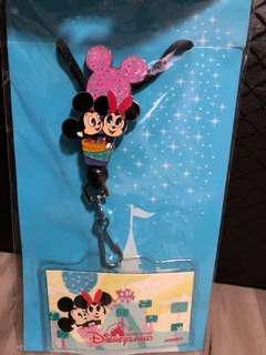 Lanyard Minnie and Mickey mouse
