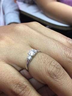 Eroupe diamond ring