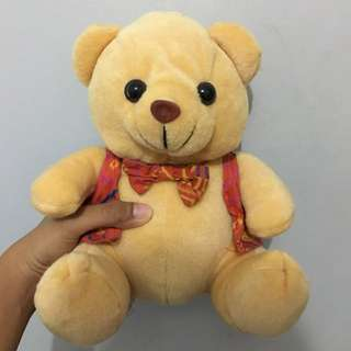 Mini Teddy Bear Boneka Beruang Batik