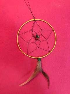 Yellow dreamcatcher