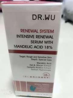 Dr. Wu Renewal system serum with Mandelic Acid 18%  15 ML