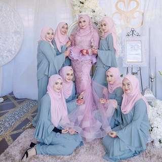 Baju BRIDESMAIDS MURAH