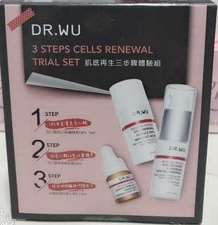Dr. Wu mini set for skin cells renewal