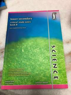 Lower Sec Science Study Notes book B