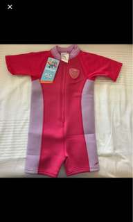 Speedo wetsuit (for 4yrs old)