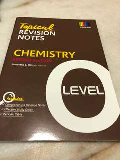O level Chemistry