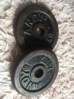 Weight Plate Dumbell 2.5kg