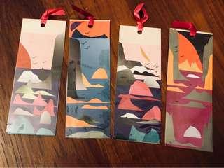 Handmade bookmarks