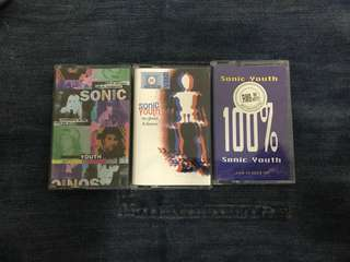 Sonic Youth Lot Cassette