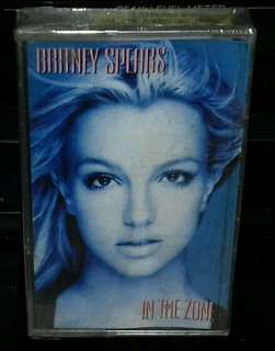 Kaset / Cassette BRITNEY SPEARS - In The Zone