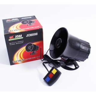 12v Police Siren Horn (Installed) - Plug And Play