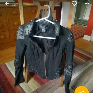 Small Trivium Leather Jacket