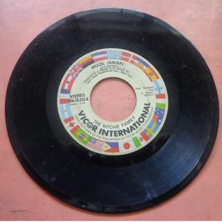 45 RPM Vinyl Record - BRAZIL (SALSA) by THE RICHIE FAMILY