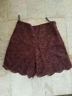 Shop at Velvet Lace Shorts