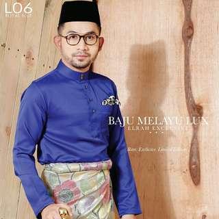 Baju Melayu Slim Fit Elrah Exclusive