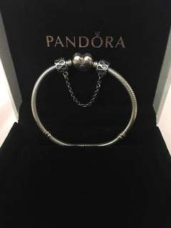 Pandora Heart Shape Clasp Bracelet