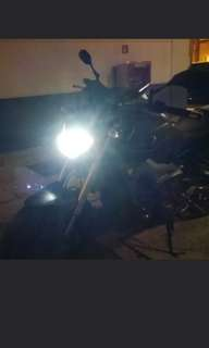 Yamaha mt09 on our led headlight