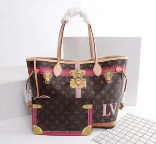 LV Print of Trunk Neverfull