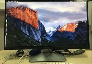 Dell 2K monitor 99% new, U2515H