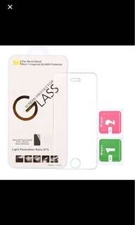 CLEAR Tempered Glass for iphone 6/6s/6+/6S+/7/7+