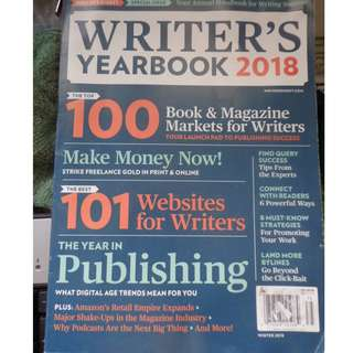 WRITER'S YEARBOOK 2018