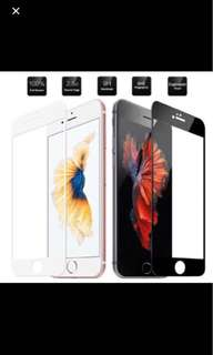 FULL COVERAGE Tempered Glass for iphone 6/6s/6+/6S+/7/7+
