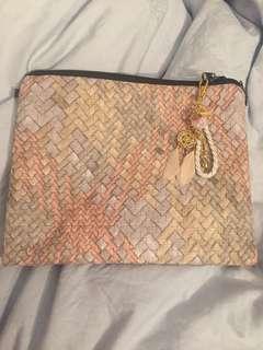 Clutch Bag/ sling bag with charm