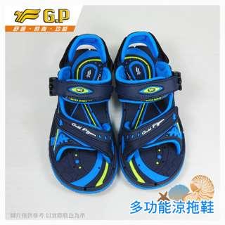 出清價~GP~阿亮代言~時尚休閒涼鞋~童鞋~舒適透氣~磁扣設計~GP涼鞋~G6958B-22