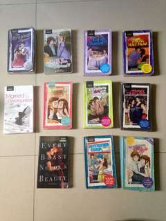 Preloved Wattpad Books (Price starts at 75 pesos)