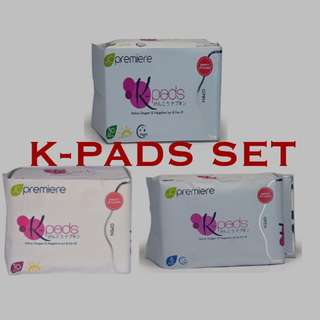 AUTHENTIC K-PADS NEGATIVE ION (Set)