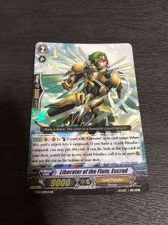 Cardfight Vanguard: Liberator of the Flute, Escrad