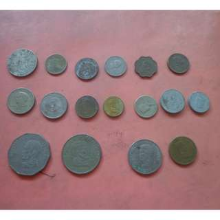 REPUBLIC OF THE PHILIPPINES OLD COINS - LOT 1