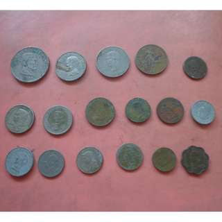 REPUBLIC OF THE PHILIPPINES OLD COINS - LOT 2
