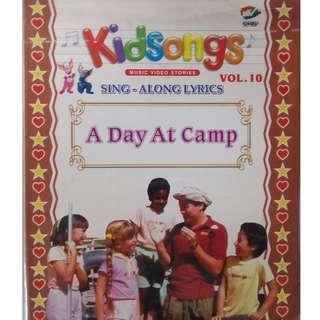Kidsongs Sing Along Lyrics A Day At Camp Vol.10 VCD
