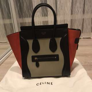Celine Micro Tricolour Bag