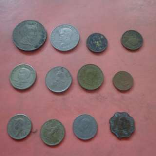 REPUBLIC OF THE PHILIPPINES OLD COINS - LOT 3