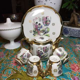 Vintage Eiho Wedding Tea Set