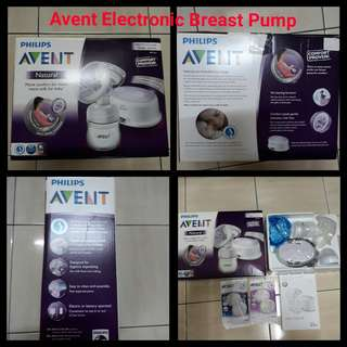 AVENT Philip Branded Electronic Breast pump NEWBOX