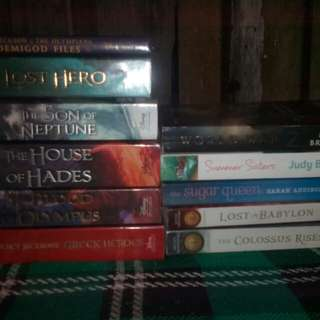 Heroes of olympus,seven wonders,etc.