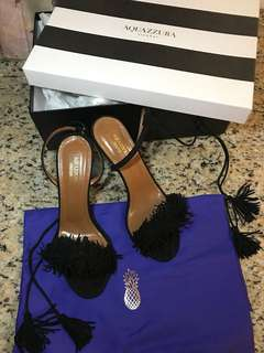全新 女神鞋 Aquazurra Wild Thing Heels