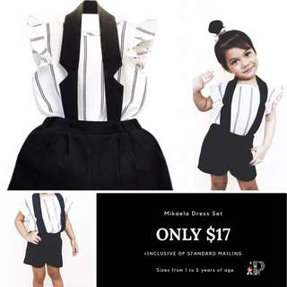 Girls dress sizes 2 to 5 years age