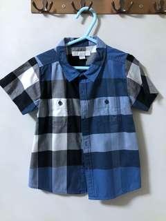 Authentic Burberry Boy Tshirt size 3 yo