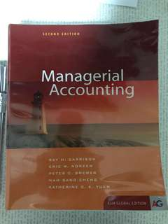 ACCT112 Managerial Accounting Textbook