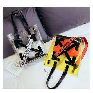 Cross Arrow Tote Bag