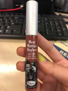 The Balm meet matt(e) hughes liquid lipstick in reliable, sincere, trustworthy