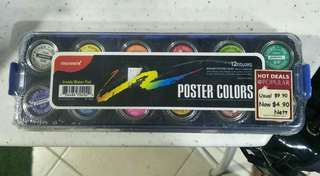 12 Colors Poster Colors