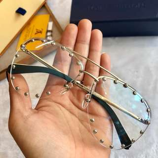 LV 🔥Clearance🔥 Computer Eye Protection Glass Unisex Anti-Fatigue Eyewear Spectacle PC Lens Frame