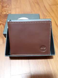 Brand new with tag in box original Timberland men leather wallet